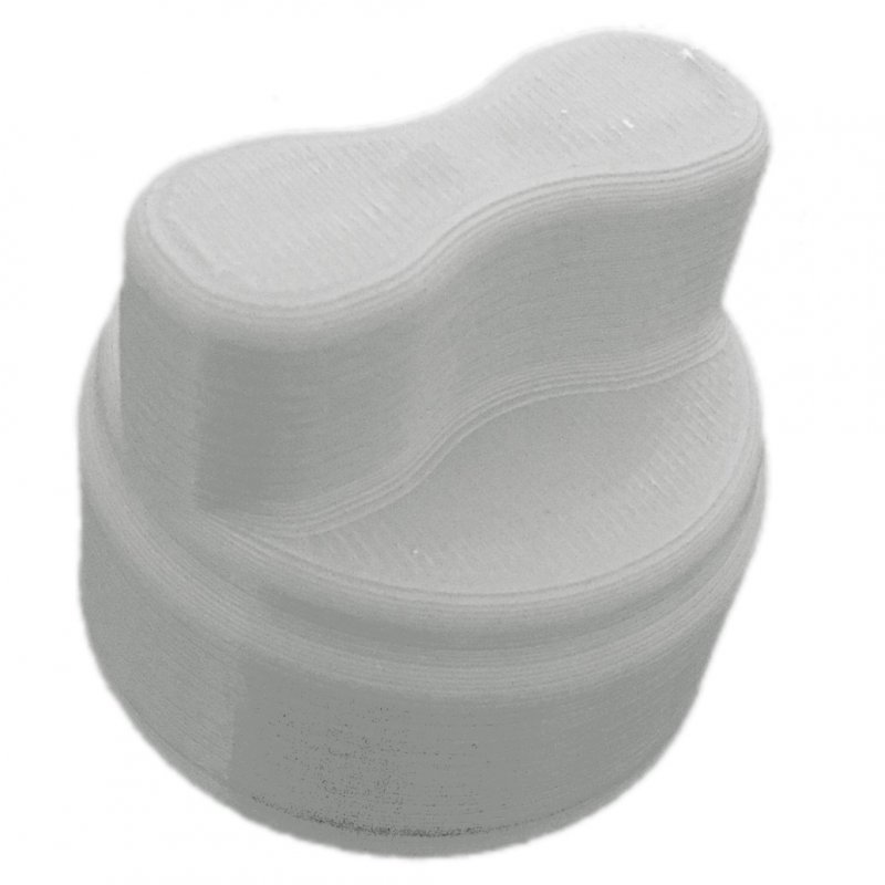 Mutti-Dreher passend für den Thermomix® TM5 (silber)