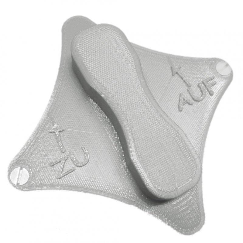 Boden-Dreher passend für den Thermomix® TM6, TM5 und auch für den TM31 (silber)